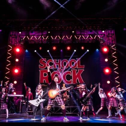 School of Rock The Musical Cast