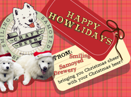 Smiling Samoyed